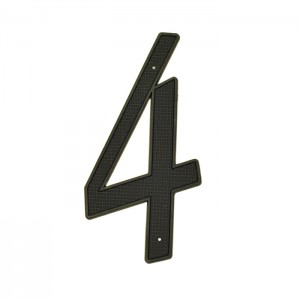 4″ Nail-On House Numbers