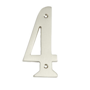 4″ Solid Brass House Numbers