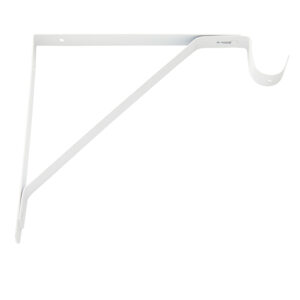 H.D. Fixed Shelf & Rod Support Bracket