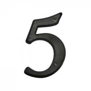 Plastic House Numbers