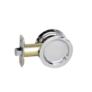 Round Bore Pocket Door Passage Locks