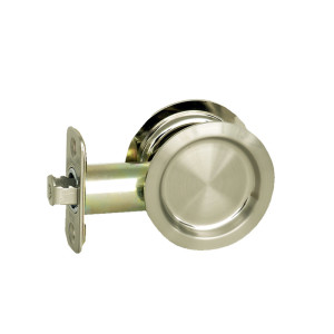 Round Bore Pocket Door Passage Locks